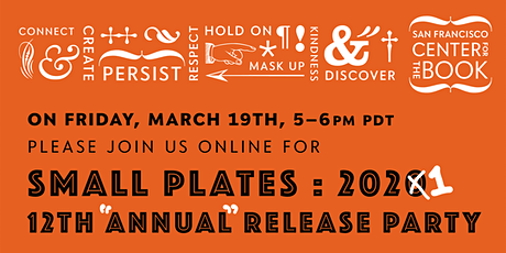 Small Plates Publication Party: 2021! tickets