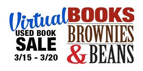 Books, Brownies and Beans Virtual Used Book Sale tickets