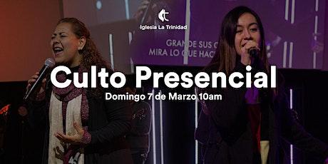 Culto Domingo 7 de Marzo 10am tickets