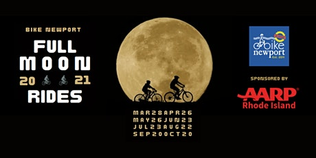Bike Newport Full Moon Rides tickets
