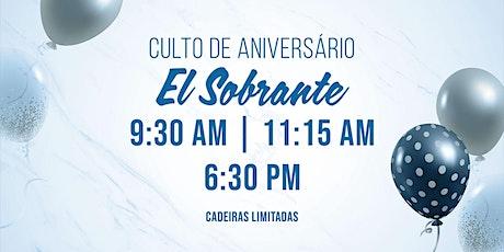 Cultos Aniversario e Ceia - Campus El Sobrante tickets