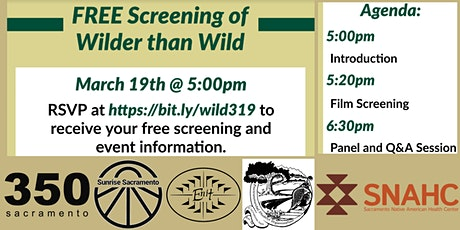 Sac Documentary Night - Wilder Than Wild: Fire, Forests, and the Future tickets