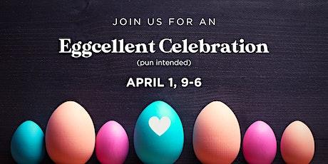 Eggcellent Celebration tickets