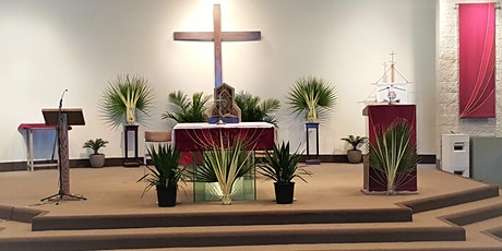 Palm Sunday  Mass Saturday 5pm tickets