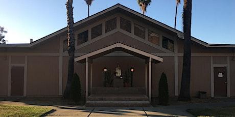 Indoor Saturday Vigil English Mass St. Julie Billiart  San Jose CA tickets