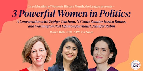 At Home With The League: Three Powerful Women in Politics tickets