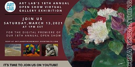 Art Lab's 18th Annual Open Show Virtual Gallery Exhibition tickets