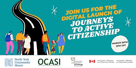 Journeys to Active Citizenship - Digital Launch tickets