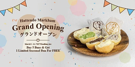 Hattendo Markham store is now opening tickets