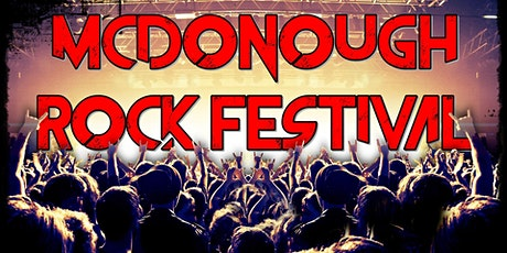 McDonough Rock Festival 2021 tickets