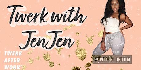 Twerk with JenJen - FEARLESS & FRIENDLY DANCE FITNESS TASTER CLASS tickets