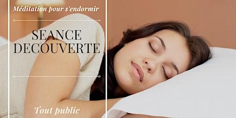 Méditation pour s'endormir - Séance Gratuite billets