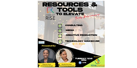 Resources & Tools to Elevate Your Business tickets