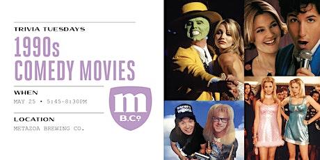 1990s Comedy Movies Trivia tickets