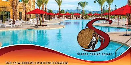 Soboba Casino Resort Hiring Event tickets