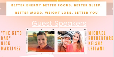 Better Life Workshop / Keto Life Party Afternoon Session tickets
