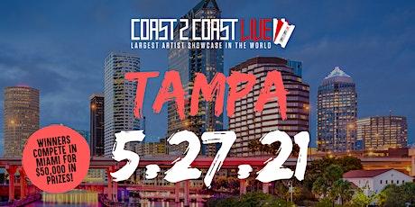 Coast 2 Coast LIVE Showcase Tampa - Artists Win $50K In Prizes tickets