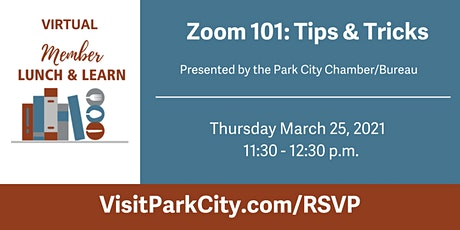 Virtual Lunch & Learn: Zoom 101 – Tips & Tricks tickets