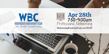 Wednesday Breakfast Club - April 28th tickets