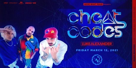 Cheat Codes at LA V Nightclub Miami 3/12 tickets