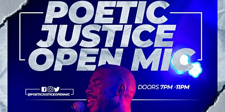 Poetic Justice Open Mic tickets