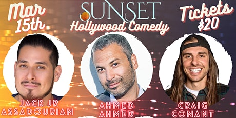 Sunset Comedy Show 3/15: Hollywood tickets