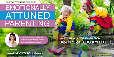 Emotionally Attuned Parenting - Workshop with BriAnna Simons tickets