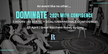 DOMINATE 2021 with  CONFIDENCE tickets