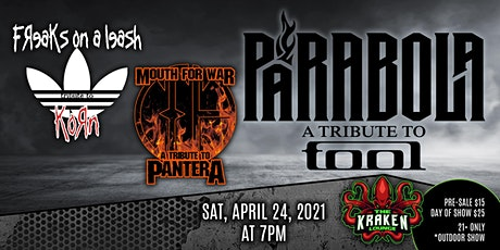 PARABOLA - A Tribute to TOOL tickets