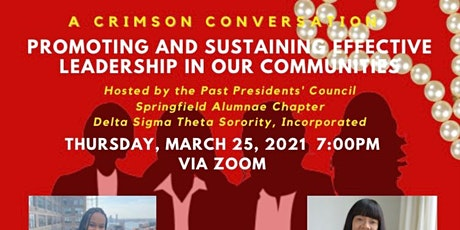 Crimson Conversation: Promoting And Sustaining Effective Leadership tickets