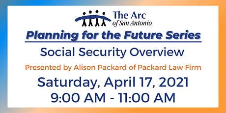 Planning for the Future Series -  Social Security Overview tickets