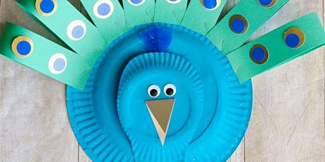 ZOOM Craft Kit Songs & Stories with KIERA - Paper Plate Peacocks! tickets