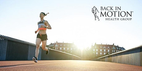 Physiotherapy for Runners by Back In Motion tickets