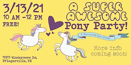 Pony Party! tickets