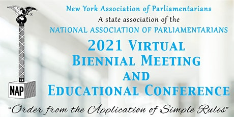 2021 Biennial Meeting and Educational Conference tickets