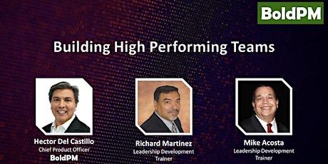 Building High Performing Teams tickets