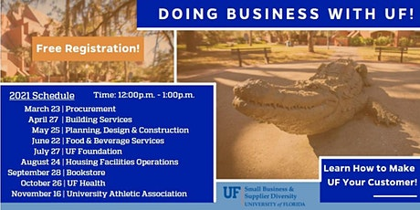 Doing Business with UF! tickets