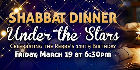Shabbat Dinner Under the Stars tickets