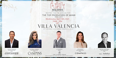 Real Estate Development Showcase: The Top Producers of Miami tickets