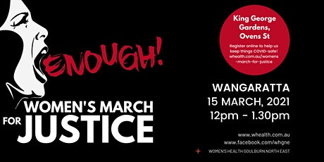 Women's March for Justice tickets