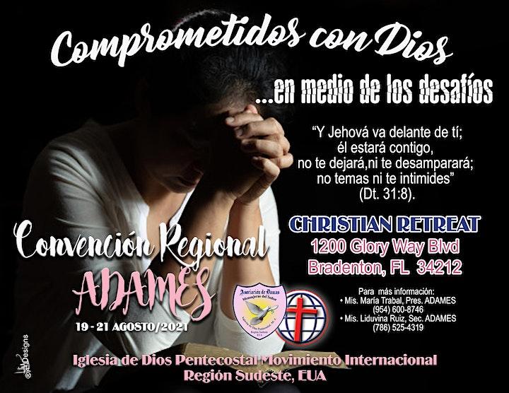 Convención ADAMES - RSE 2021  *HOSPEDAJE Y COMIDA* image