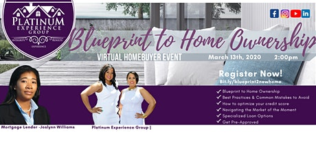 Virtual Happy Hour - Blueprint to Home Ownership! tickets