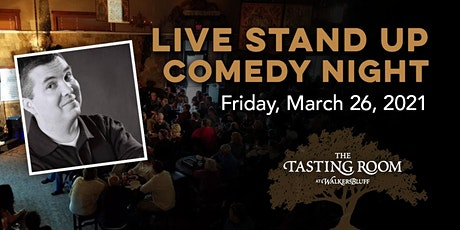 March LIVE Stand Up Comedy Night at Walker's Bluff - Dobie Max tickets