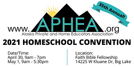 2021 APHEA Homeschool Convention tickets
