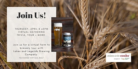 Virtual Gathering with Lakes & Legends Brewing Company tickets