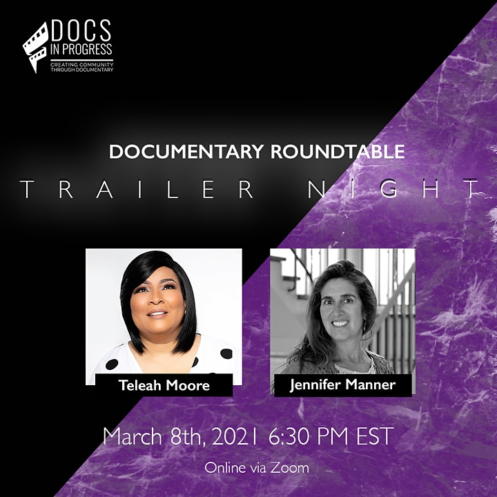 Documentary Roundtable: Trailer Night image