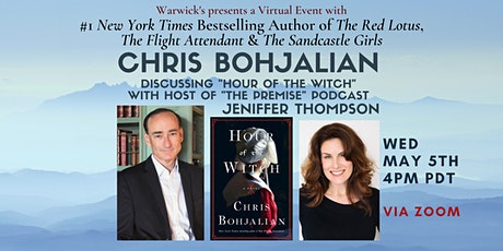Chris Bohjalian w/Jeniffer Thompson discussing  HOUR OF THE WITCH tickets