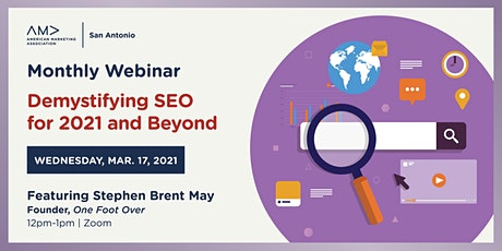 Demystifying SEO for 2021 and Beyond tickets