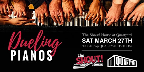 Shout House Dueling Pianos at Quartyard tickets