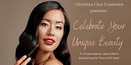 Stop Asian Hate Fundraiser: Virtual Makeup Masterclass tickets